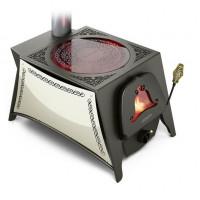 Печь отопительная СЕЛЕНГА-1 стеклокерамика